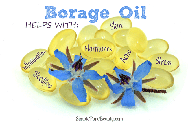 5 impressive borage oil benefits for acne - simple pure beauty, Skeleton
