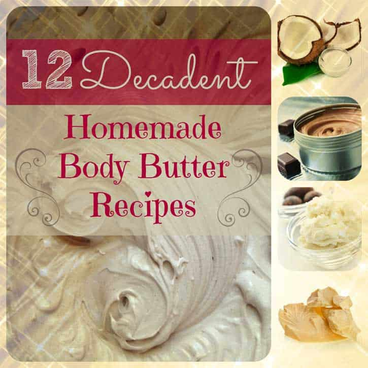 12 Decadent Homemade Body Butter Recipes: Heaven in a Jar | http://simplepurebeauty.com/681/