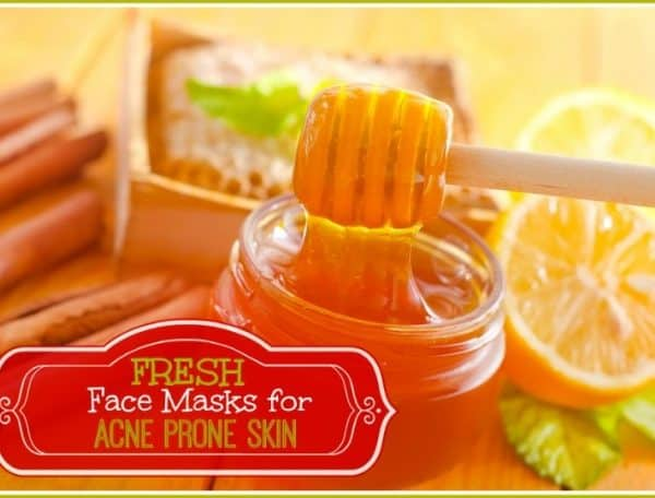 3 Fresh Homemade Face Masks for Acne Prone Skin