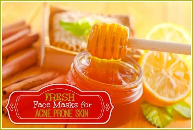 3 Fresh Face Masks for Acne Prone Skin