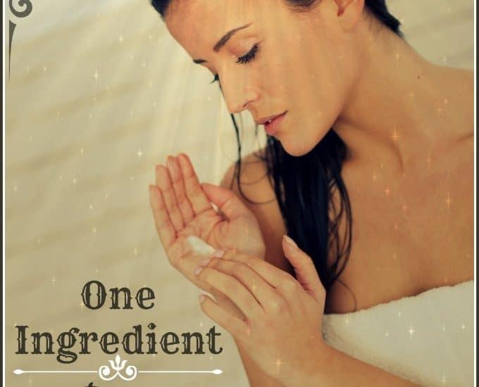 One Ingredient Hair Mask