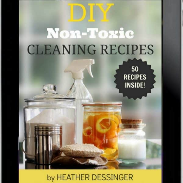 50 Homemade Natural Cleaning Recipes: A Detox for Your Home