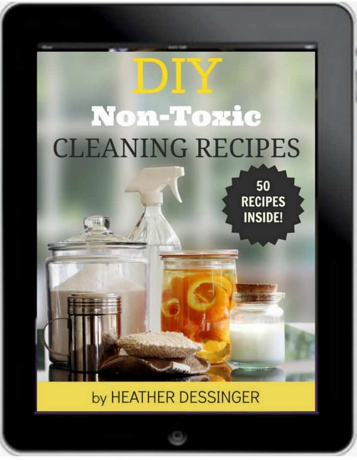 DIY Non-Toxic Cleaning Recipes by the Mommypotamus