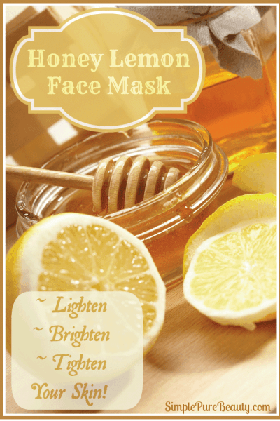 Lemon Honey Face Mask to Calm Skin, Tone and Lighten