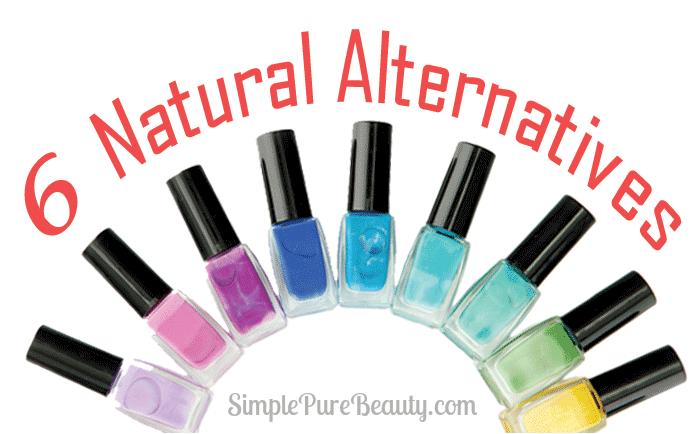 6 Natural Nail Polishes