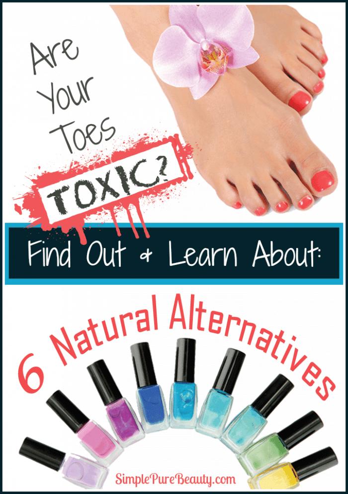 6 Non-Toxic Natural Nail Polish Options