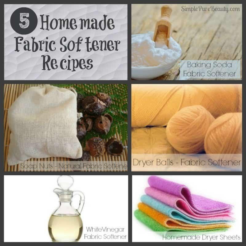 5 Homemade Fabric Softener Recipes | http://simplepurebeauty.com/1405/