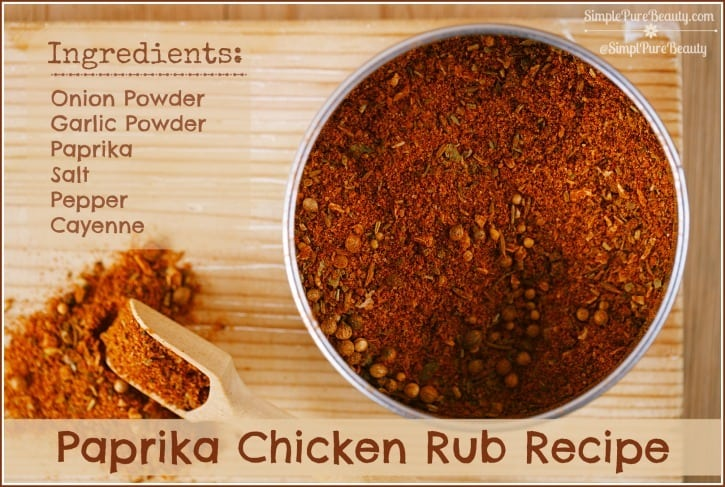 Paprika Chicken Rub Recipe