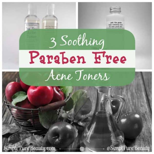 3 Soothing Paraben Free Acne Toners for Those Pesky Skin Breakouts