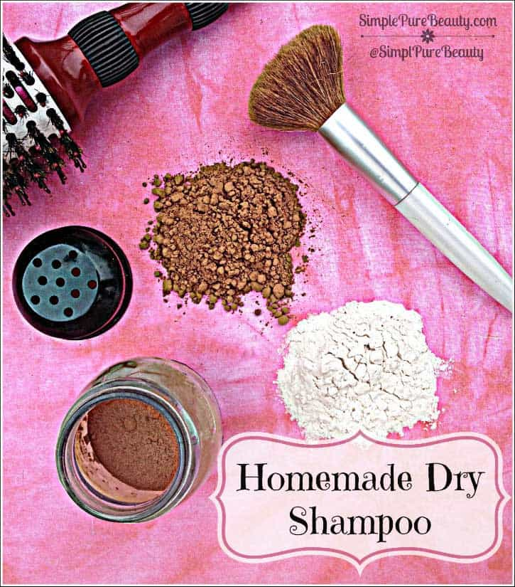 How to Make Homemade Dry Shampoo: A Much Cheaper & Safer Option! | http://simplepurebeauty.com/1642/