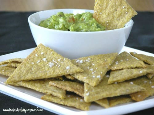 Plantain Tortilla Chips from Kate's Healthy Cupboard