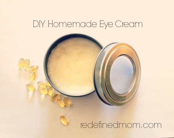 DIY Homemade Anti-Aging Eye Cream from Redefined Mom