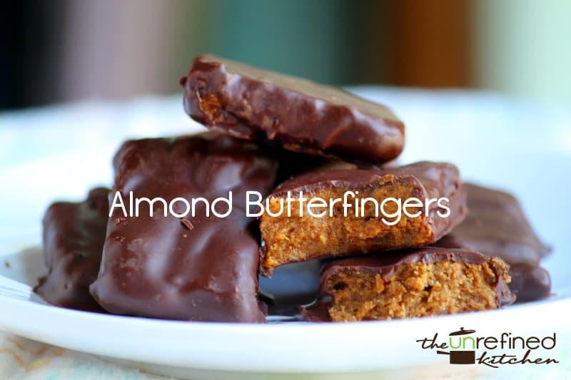 Almond Butterfingers