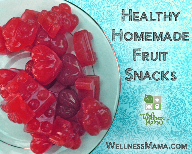 Healthy Homemade Fruit Snacks Recipe