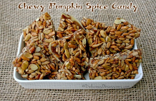 Chewy Pumpkin Spice Candy Recipe