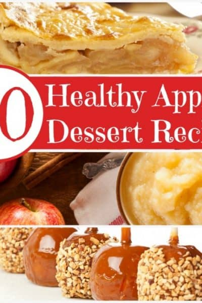 50 Delicious and Healthy Apple Dessert Recipes
