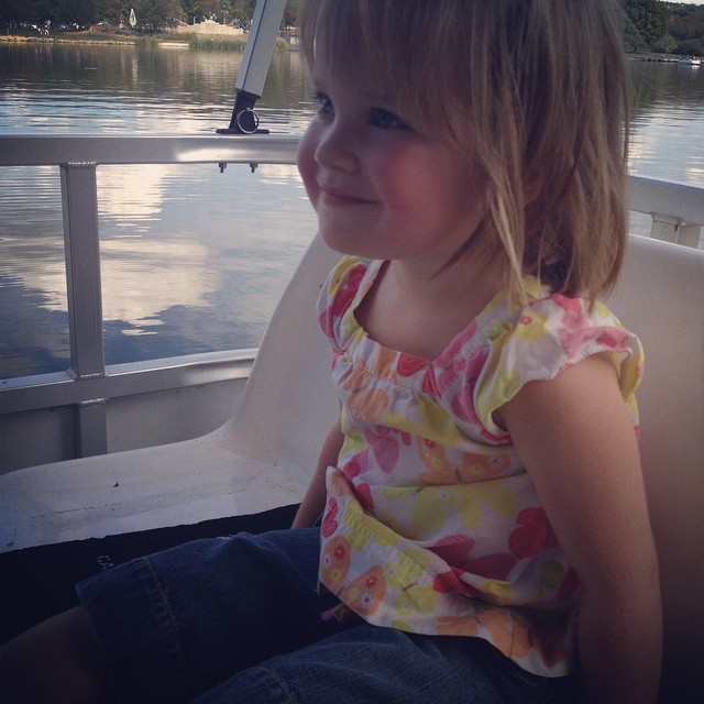 Beautiful day for a boat ride :)