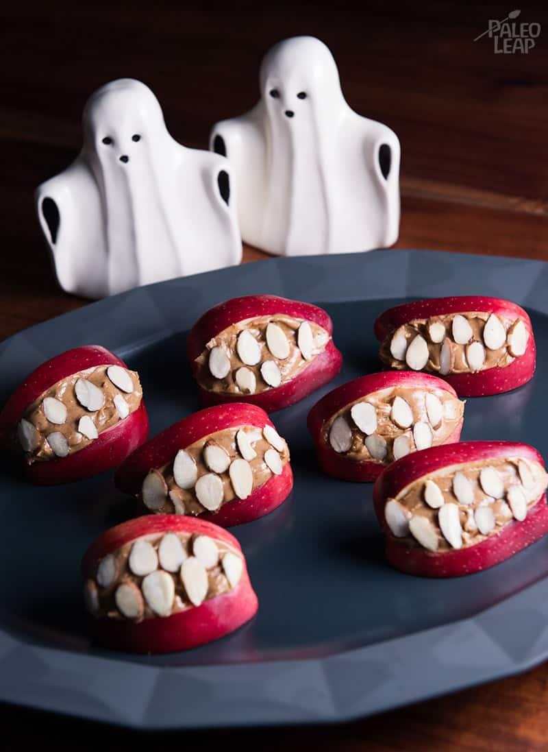 Halloween Apple Mouths
