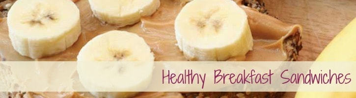 Healthy Breakfast Sandwiches | SimplePureBeauty.com/2058 #sandwich #healthy #paleo