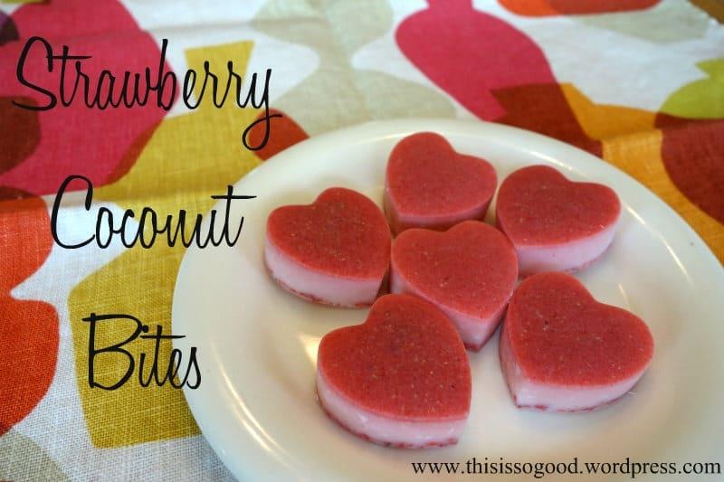 Strawberry Coconut Bites