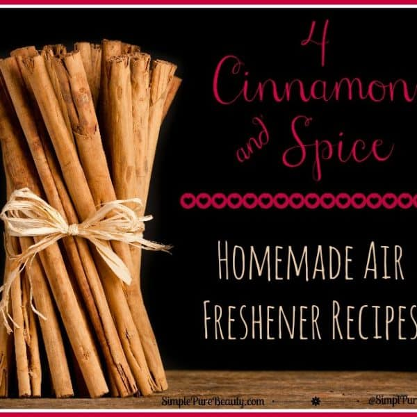 4 Heavenly Cinnamon and Spice Homemade Air Freshener Recipes for Your Home and Car