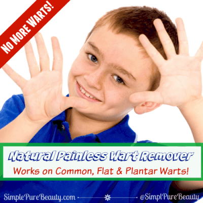 Natural, Painless Wart Removal: Safe for Kids and Flat Warts on Face