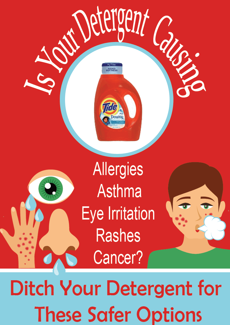 How to Spot and Avoid an Allergic Reaction to Laundry Detergent   SimplePureBeauty.com