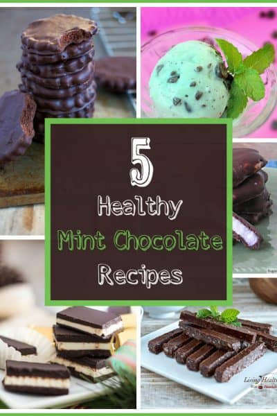 5 Healthy Mint Chocolate Recipes | SimplePureBeauty.com