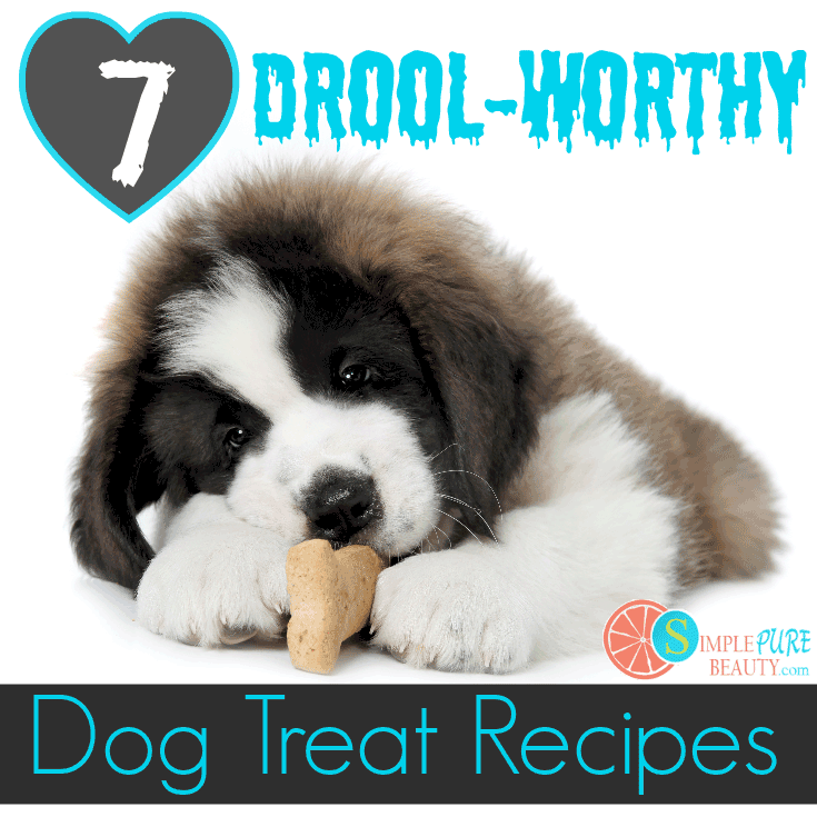7 Drool-Worthy Homemade Dog Treat Recipes | SimplePureBeauty.com