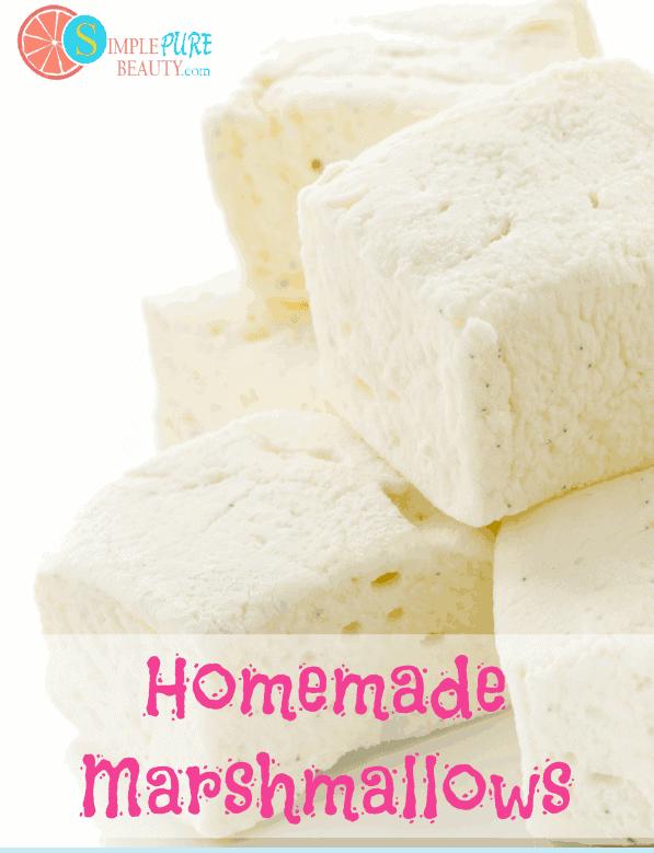 Homemade Marshmallows | SimplePureBeauty.com