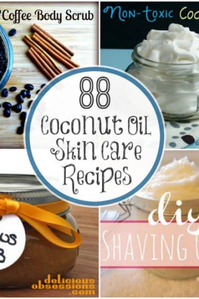 88 Coconut Oil Skin Care Recipes