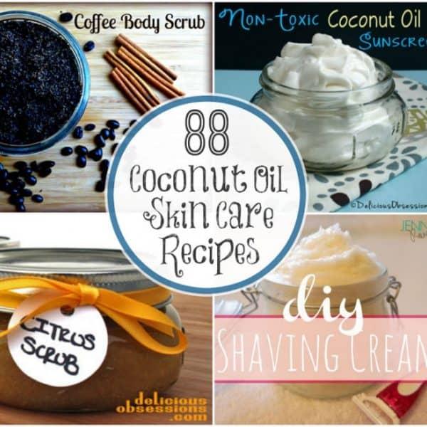 88 Coconut Oil Skin Care Recipes