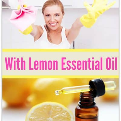 10 Sparkling Ways to Clean with Lemon Essential Oil