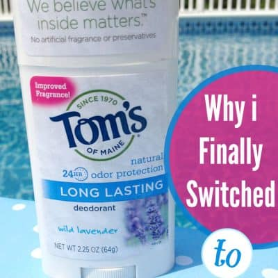 Why I Finally Switched to Natural Deodorant