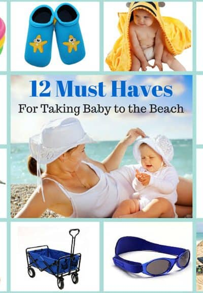 12 Essentials for a Relaxing Beach Vacation With Baby! | SimplePureBeauty.com