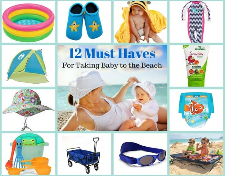 12 Essentials For A Relaxing Beach Vacation With Baby Simplepurebeauty