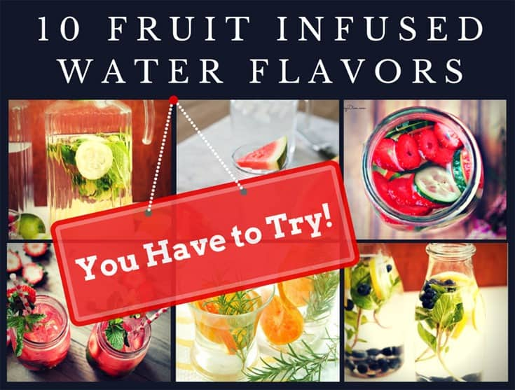 10 Fruit Infused Water Flavors You Have to Try! | SimplePureBeauty.com
