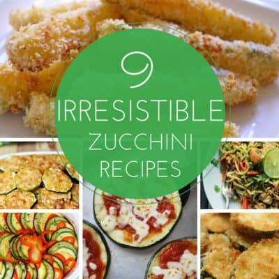 9 Irresistible Zucchini Recipes