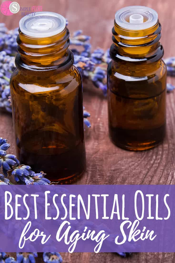 Best Essential Oils for Aging Skin #essentialoil #beauty #aging #skincare #natural