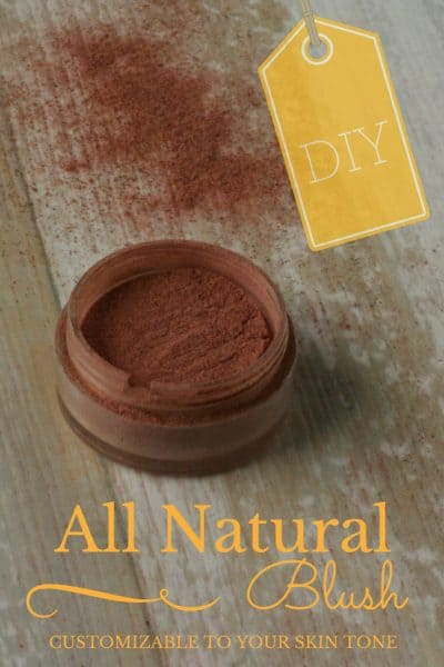 All Natural DIY Blush: Customizable To Your Skin Tone