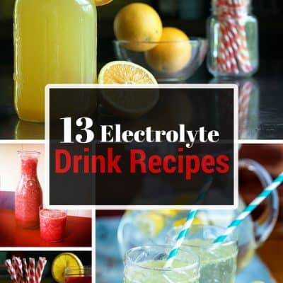 13 DIY Electrolyte Drink Recipes