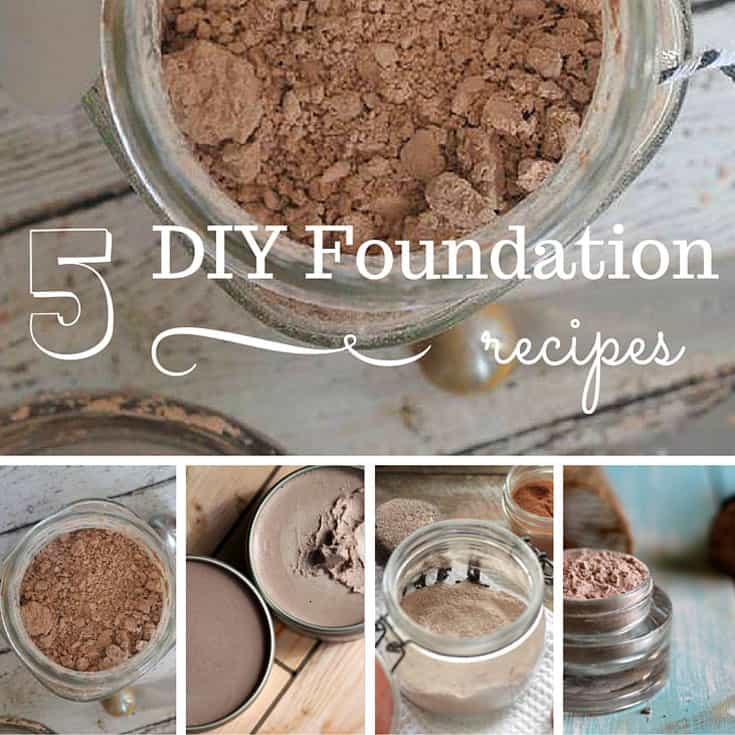 5 DIY Foundation Recipes You Have to Try! | SimplePureBeauty.com