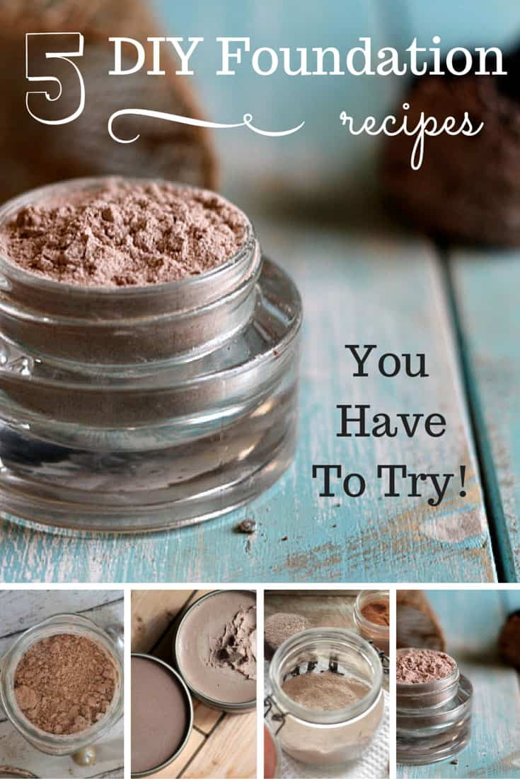 5 DIY Foundation Recipes You Have to Try! - Simple Pure Beauty