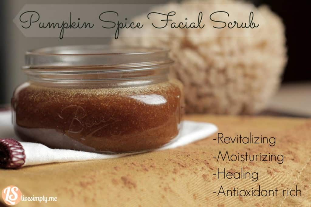 HOMEMADE PUMPKIN SPICE FACIAL SCRUB