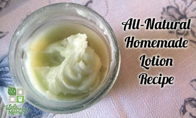 Wellness Mama's Organic Homemade Lotion