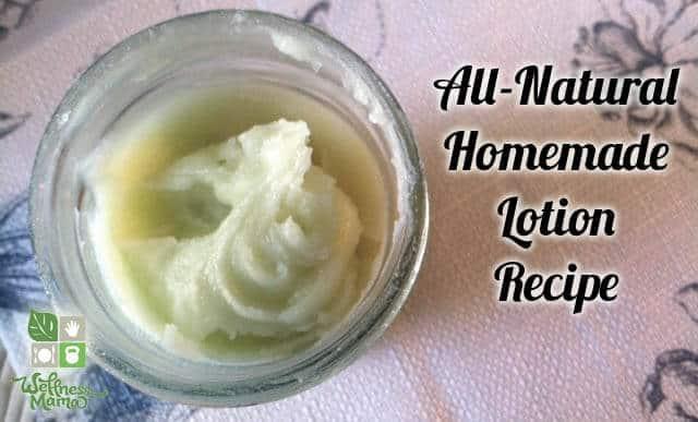 Wellness Mama's Organic Homemade Lotion