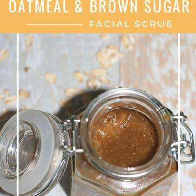 Oatmeal and Brown Sugar Exfoliating Facial Scrub