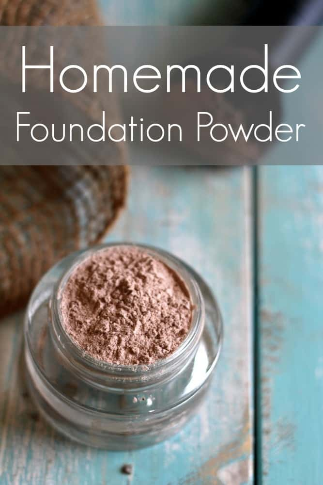 Homemade Foundation Powder