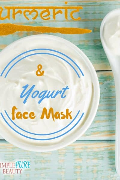 Turmeric and Yogurt Face Mask