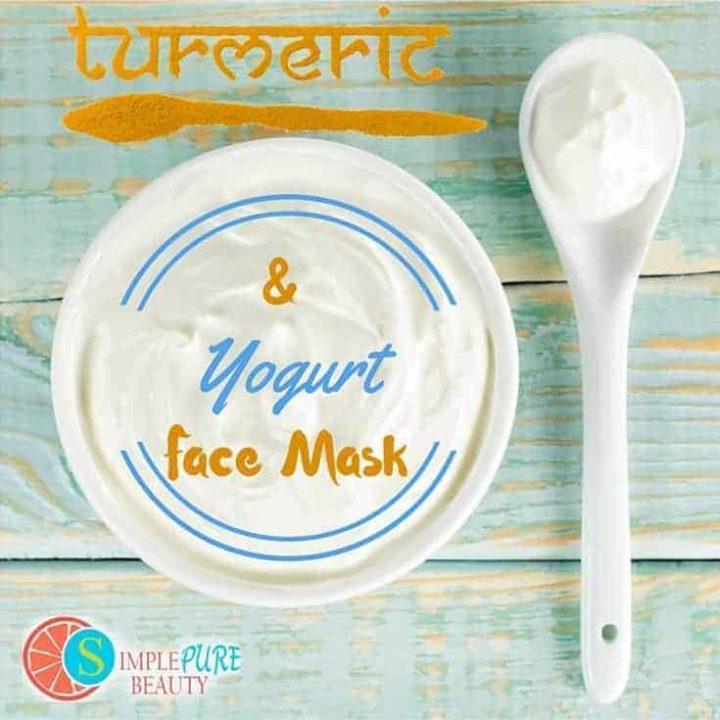 Turmeric and Yogurt Face Mask   SimplePureBeauty.com